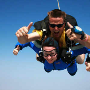Sky Diving in Cape Town