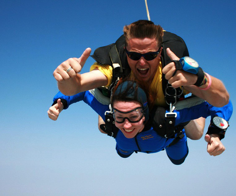 Sightseeing Cape Town Sky Diving Tours