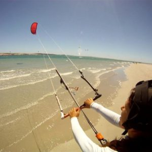 Beginner Kite Surfing Lessons in Langebaan