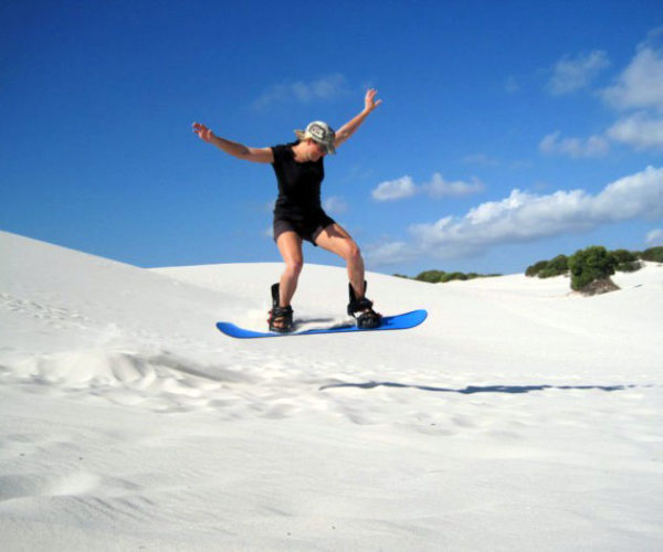 Sand Boarding in Cape Town